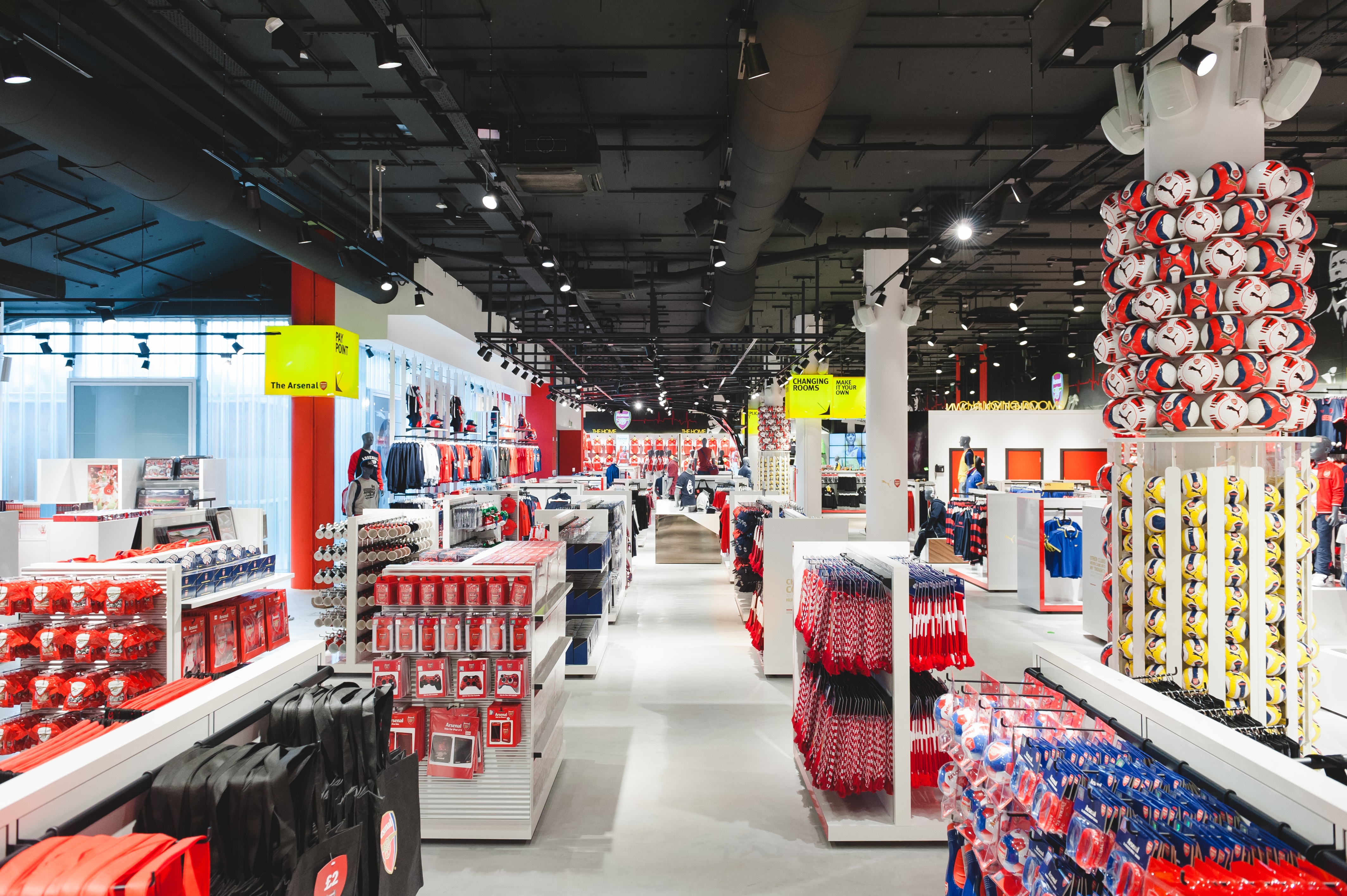 dea6b2d53a4 arsenal armoury retail store has completed its re-design. – solus