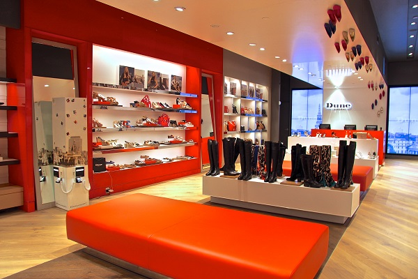 Dune Shoe Store Named Store Of The Week Solus Lighting